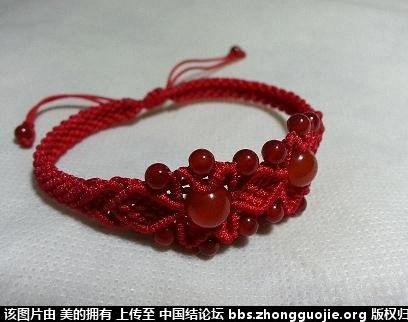 七夕情人节手链大合集-编法图解-作品展示-中国结