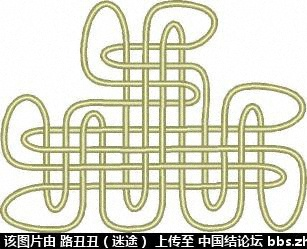 中国结论坛 五、三才结  丑丑徒手编结 213052th04m1hu8ous1y8d