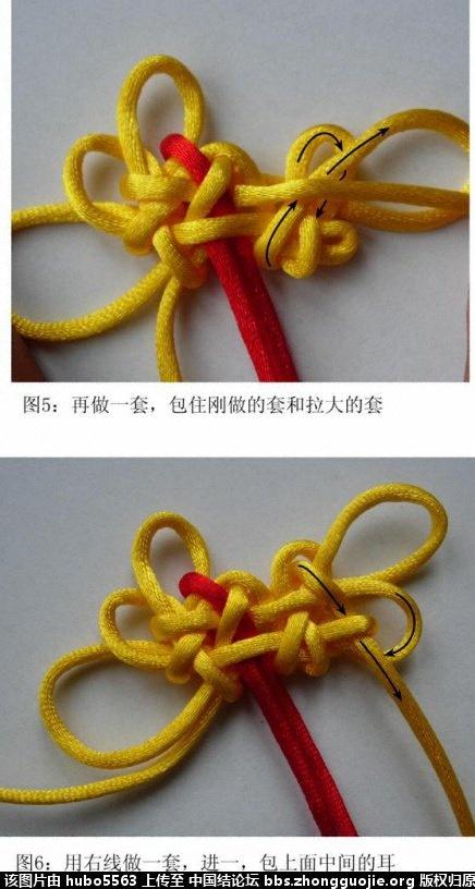 中国结论坛 小三角团锦共用套编结过程  丑丑徒手编结 172011cppdhbwuupcbwe8s