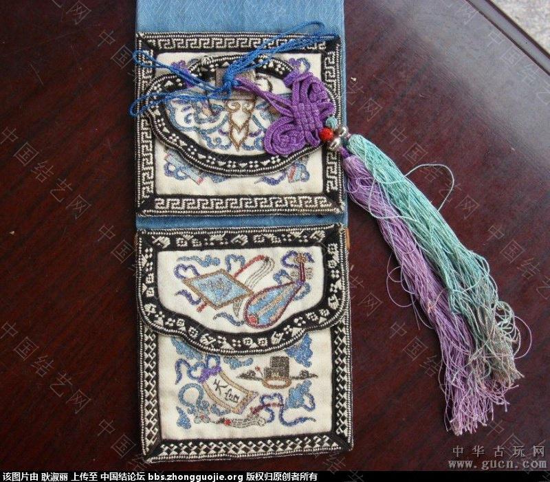 中国结论坛 清末到民国时期的带结绣品1 古玩,网站 中国结文化 202504qsdxk2an5sauyqce