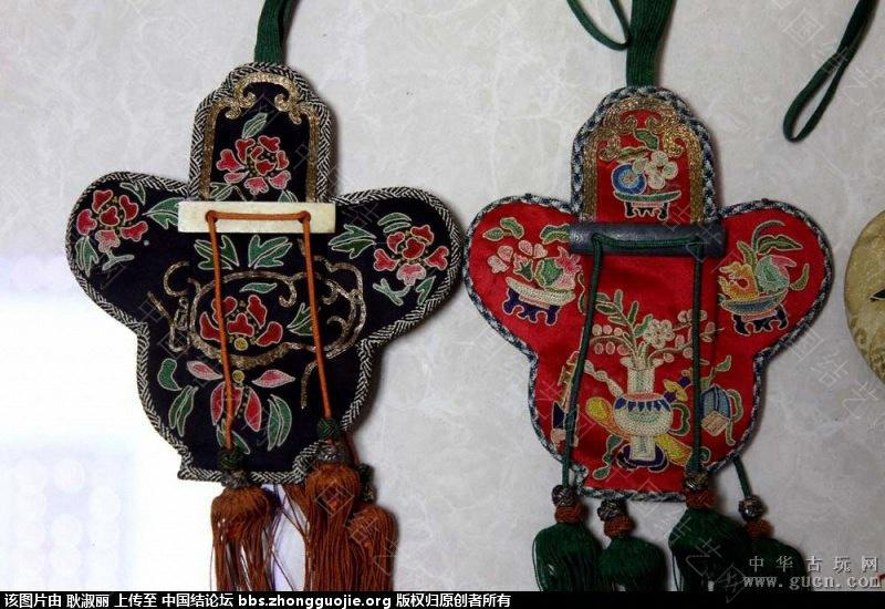 中国结论坛 清末到民国时期的带结绣品1 古玩,网站 中国结文化 202509ummzs4sfy3oa234s