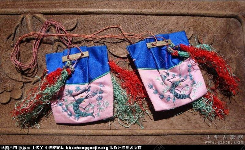 中国结论坛 清末到民国时期的带结绣品1 古玩,网站 中国结文化 202532m3k9vqiuzblvcbuw