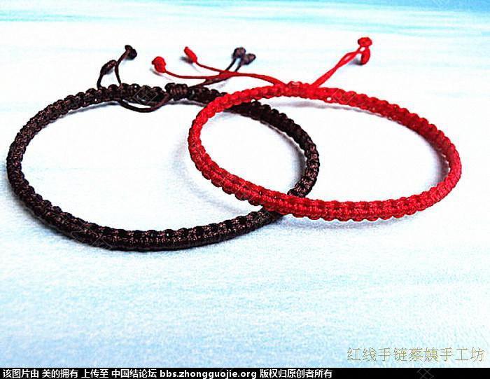 我的最新好手链-编法图解-作品展示-中国结论坛