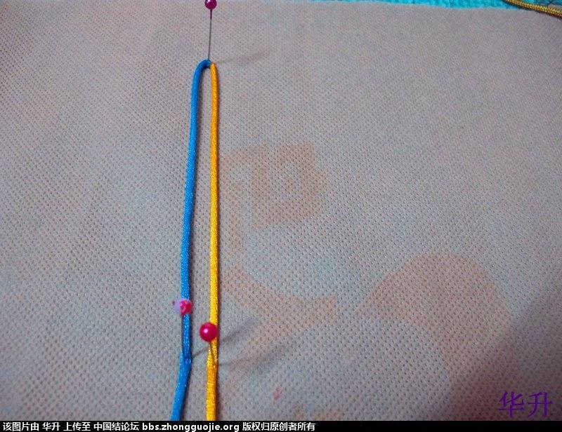 中国结论坛 两圈索线结(右线不动,左线绕线)  基本结-新手入门必看 1708329aalhnnw4v8588ad