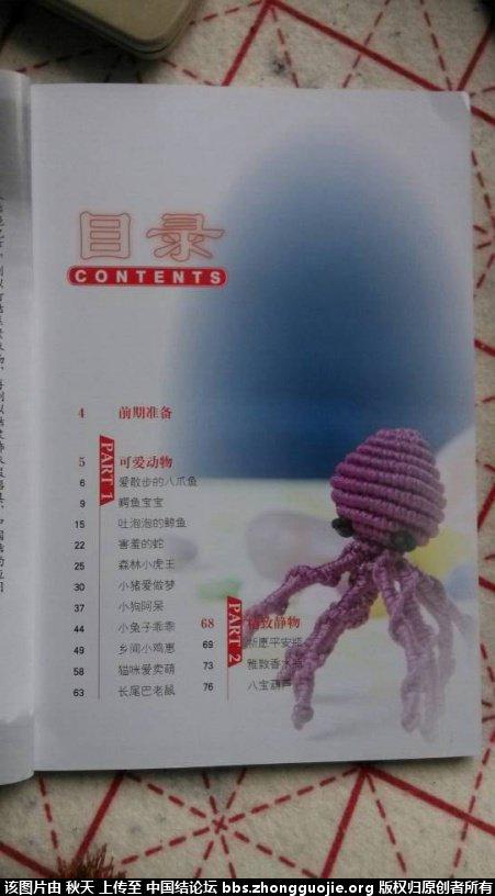 中国结论坛 丑丑原创作品集出版《中国结-玩偶篇》开始预订 作品集 丑丑徒手编结 1227066967fgprg3ogbmp5