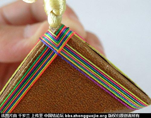 中国结论坛 端午彩色粽子简单教程  图文教程区 183632o309b3ms608pa633