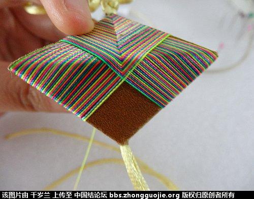 中国结论坛 端午彩色粽子简单教程  图文教程区 183646wlqe4w0iwsjons2q