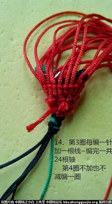 中国结论坛 【苹果】另一种编法~~ 苹果 立体绳结教程与交流区 081320y51tv8w5t1zbbnb6