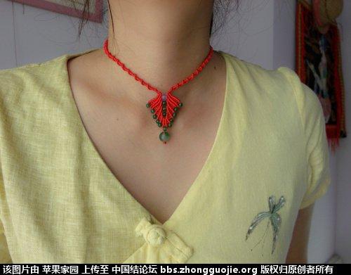 中国结论坛 苹果家园作品集二《手链  项链》 作品集,苹果,项链 作品展示 115229ilhq6g31q1dlmjjq