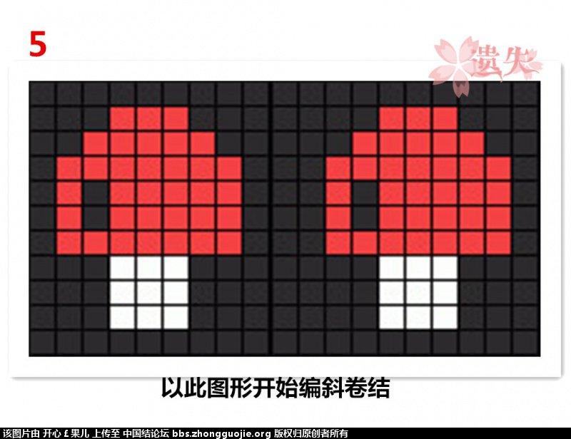 中国结论坛 三色的蘑菇手链,欢迎吐槽  图文教程区 234257azv5zuezx53dzu5a