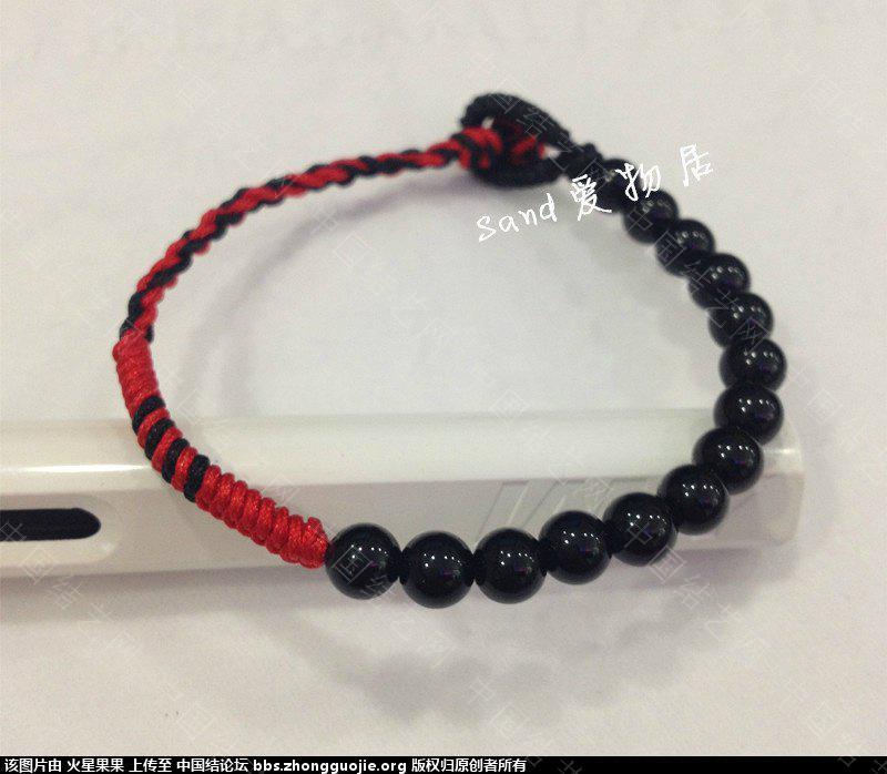手绳,项链,戒指-编法图解-作品展示-中国结论坛