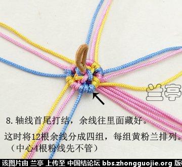 中国结论坛 六瓣花柱 包饰  兰亭结艺 172746uweezkcrgue330te