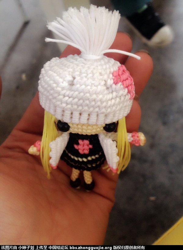 中国结论坛 带帽子的大头娃娃  立体绳结教程与交流区 123843kwgkk6gssos66gk6