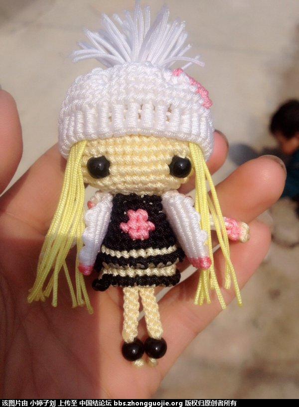 中国结论坛 带帽子的大头娃娃  立体绳结教程与交流区 1402313eopgdwgwnc7cmns