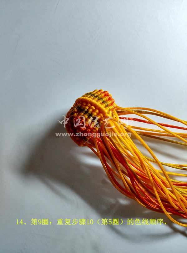 中国结论坛 八宝葫芦 葫芦 立体绳结教程与交流区 142014h0ax1hav9ovh1vna