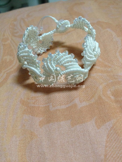 中国结论坛 天使的翅膀手链(补充文字说明) 天使 图文教程区 204351az0e1o007z05670x