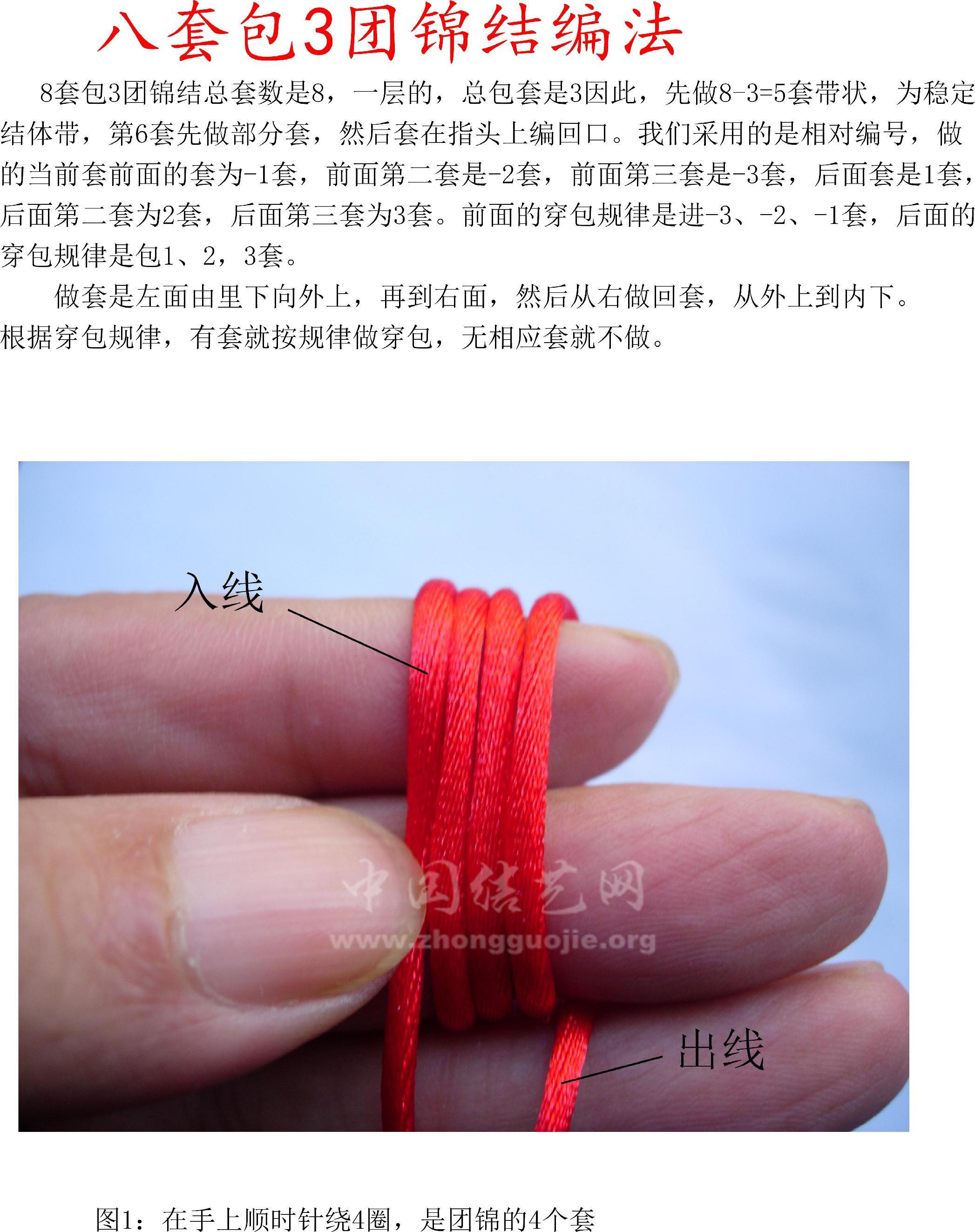 中国结论坛 新方法徒手编8耳包3套(实心)团锦结  丑丑徒手编结 105002zuzptwrdph0oxto4
