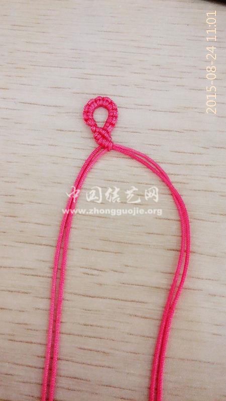 中国结论坛 粉红蝴蝶兰手链  图文教程区 130542hf6h8g3883y8epzk