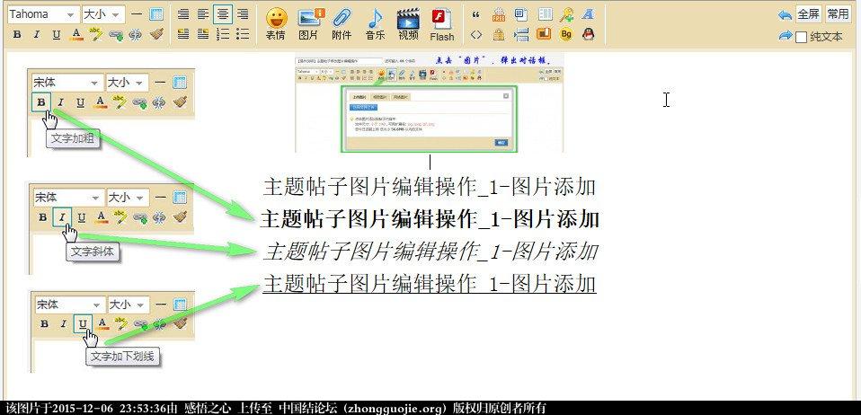 中国结论坛 【操作说明】主题帖子图片编辑操作 图片,主题 论坛使用帮助 235024nnzs77n96nykvz63