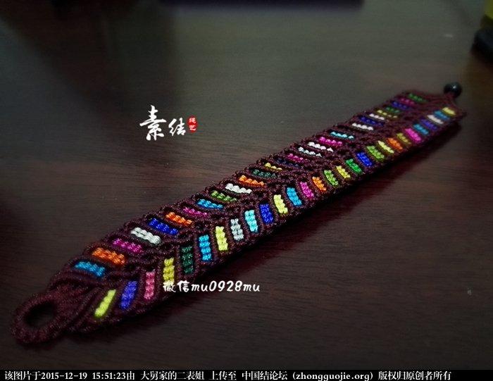中国结论坛 多彩手绳  图文教程区 154636p6pix62jv2sup27i