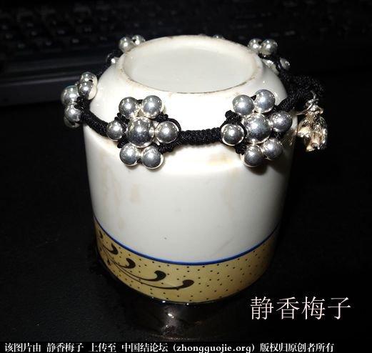 七星金刚结银链-编法图解-作品展示-中国结论坛