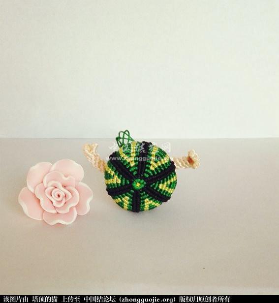 小风铃和西瓜娃-编法图解-作品展示-中国结论坛