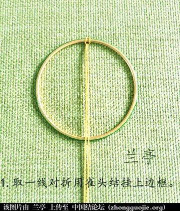 中国结论坛 生命之树(迷你版)编法 生命之树,迷你 兰亭结艺 085401r6qyruceku7u7x3c