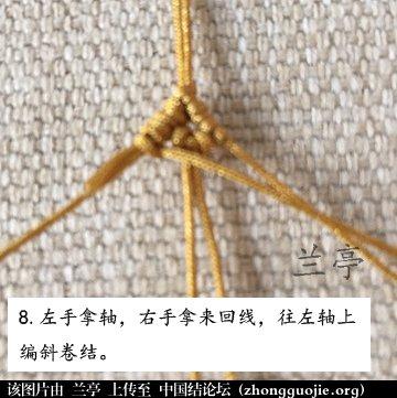 中国结论坛 过年给小孩编条小鱼手链吧(年年有余)  兰亭结艺 082346ucrbrrctrhtctnnr
