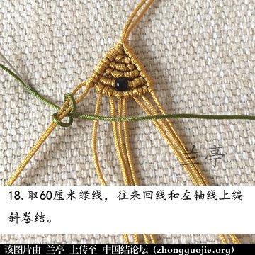 中国结论坛 过年给小孩编条小鱼手链吧(年年有余)  兰亭结艺 082349lij5rsii5sbdsk2l