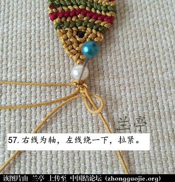 中国结论坛 过年给小孩编条小鱼手链吧(年年有余)  兰亭结艺 082406r1e1v7s9ev9v79v9