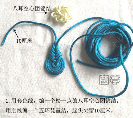 中国结论坛 琵琶团锦组合结  兰亭结艺 180035ypre1r6f2frdd9r6