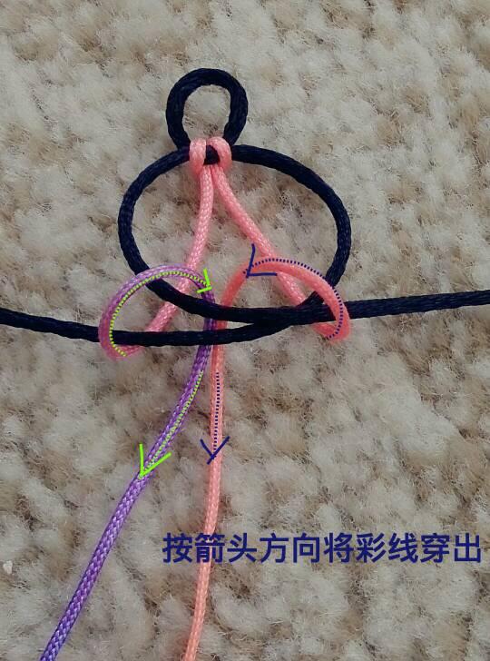 中国结论坛 端午彩色手绳  图文教程区 162115wgwf0w94xx4x10g4