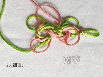 中国结论坛 二连体团锦冰花-推广胡波老师的新结 推广 兰亭结艺 154854i0zyr40m5eab4zza
