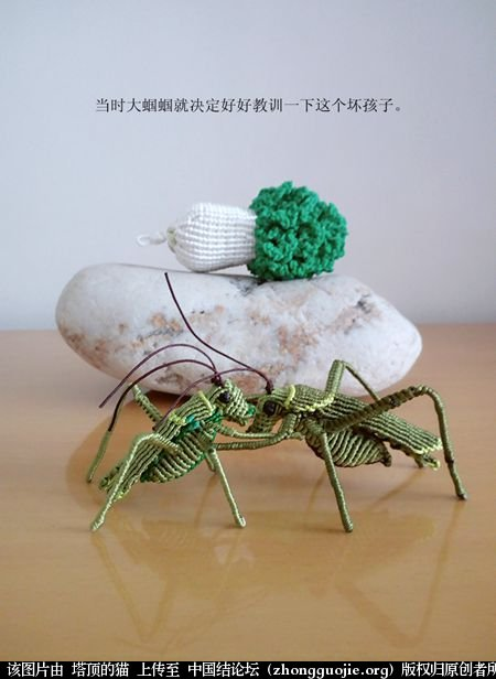 中国结论坛 两个蝈蝈的故事 故事 立体绳结教程与交流区 190859r52gbqlnk125lcj8