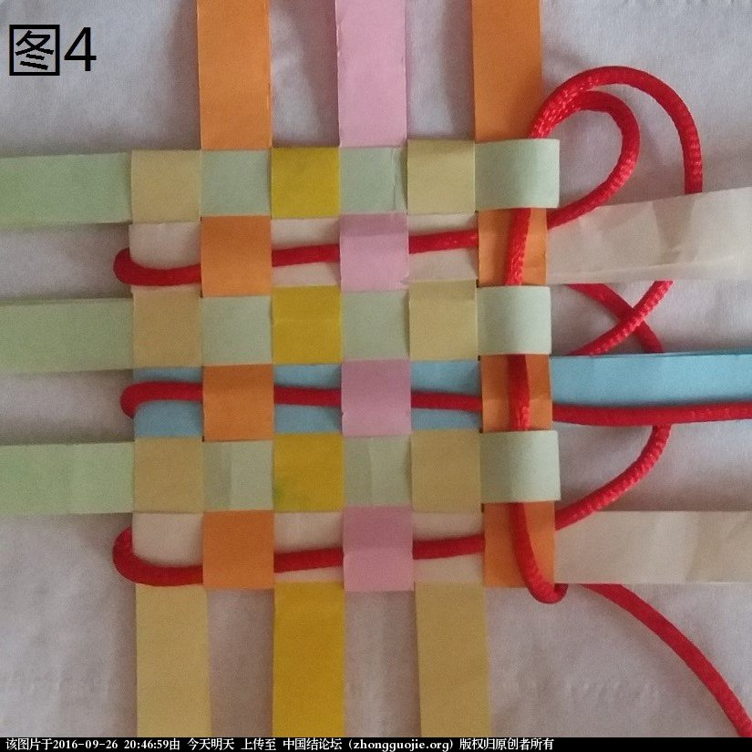 中国结论坛 3x3 盘长结延伸版  (利用纸条编的)  基本结-新手入门必看 204336pwv4yzm0md4manvv
