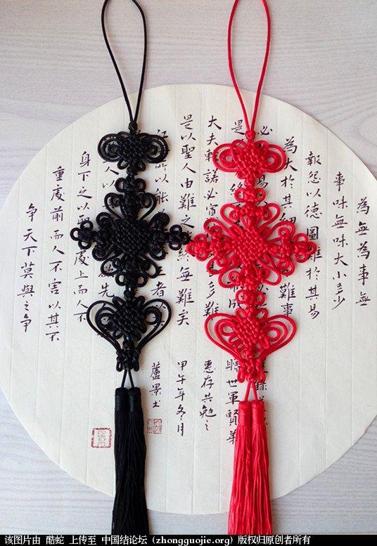 中国结论坛 酷蛇:学中国结以来的作品展示  作品展示 131317zvkkkk4pv8k6vayt