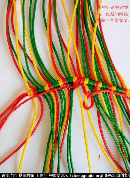 中国结论坛 圣诞树小香包 圣诞树,香包 立体绳结教程与交流区 110909gwope3z88o8e92ul