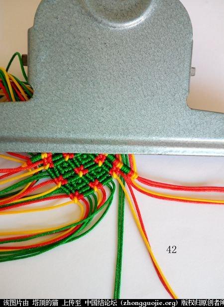 中国结论坛 圣诞树小香包 圣诞树,香包 立体绳结教程与交流区 112658fhyqyhqhifxgyf1y