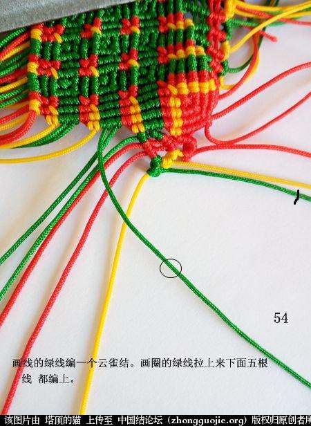 中国结论坛 圣诞树小香包 圣诞树,香包 立体绳结教程与交流区 113348ed3ddtqtfqdc4fgd
