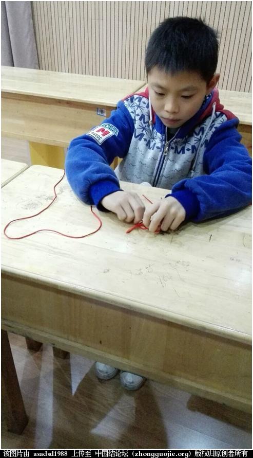 中国结论坛 孩子们的冬令营学习编绳! 冬令营 结艺网各地联谊会 102207onfpzfngp0a1vmzg