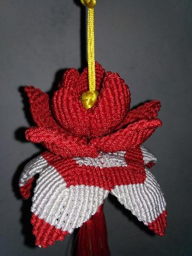 年前的莲花和挂饰-编法图解-作品展示-中国结论坛