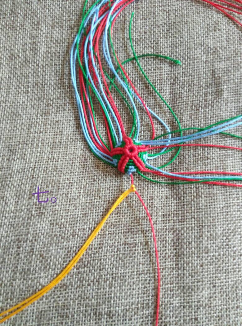 中国结论坛 五瓣葫芦~原创作品  立体绳结教程与交流区 173531ab9xc0cbx3n35bpc