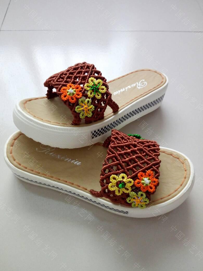 中国结论坛 简洁的镂空小花拖鞋  作品展示 171921dta1aabjqz1ldapa