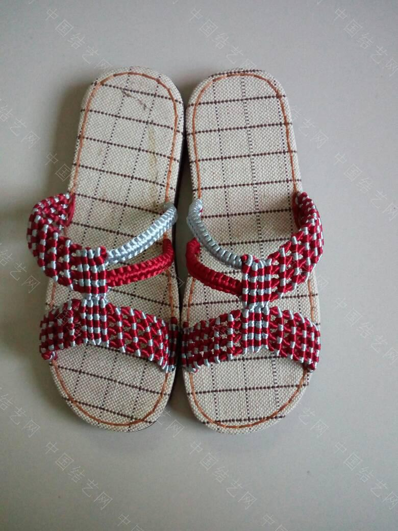中国结论坛 简洁的镂空小花拖鞋  作品展示 171923pf1zhdkg4gjfrff1