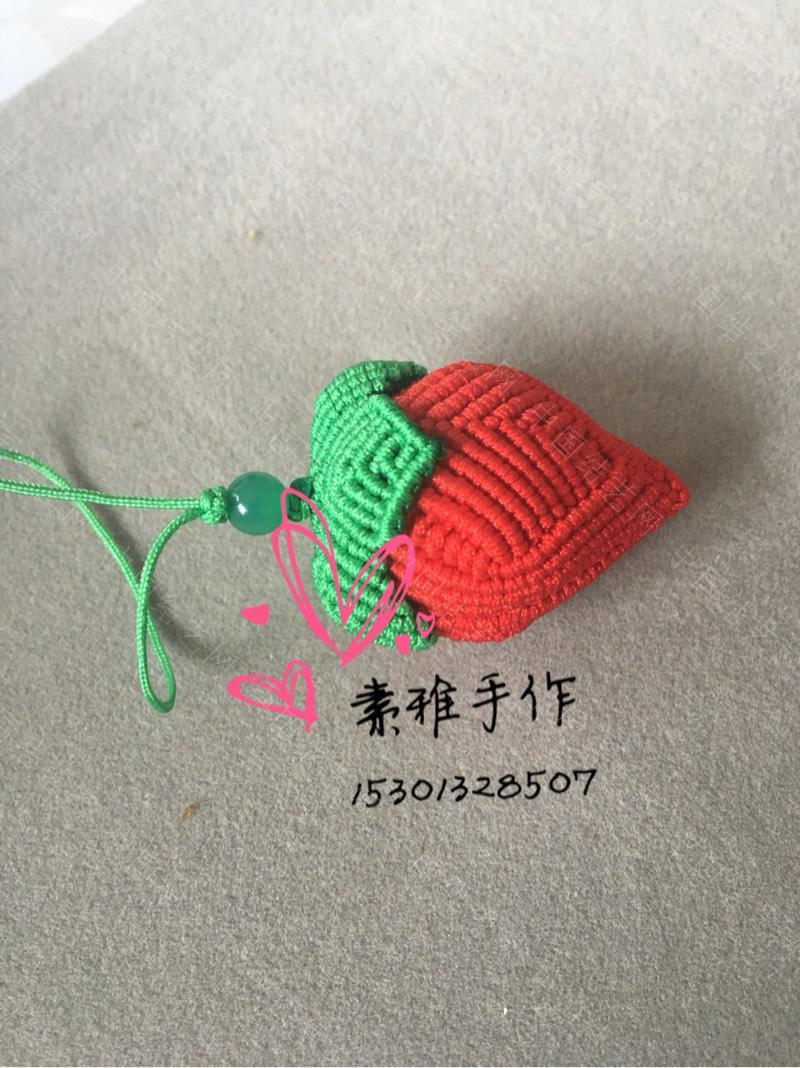 中国结论坛 【素雅-小女人】小草莓完整教程。  立体绳结教程与交流区 192305luz4kvm6vnvk46mo