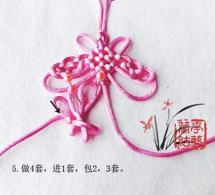 中国结论坛 包瓷片蝴蝶挂饰 蝴蝶 兰亭结艺 121601k1gpflfuflowrluf