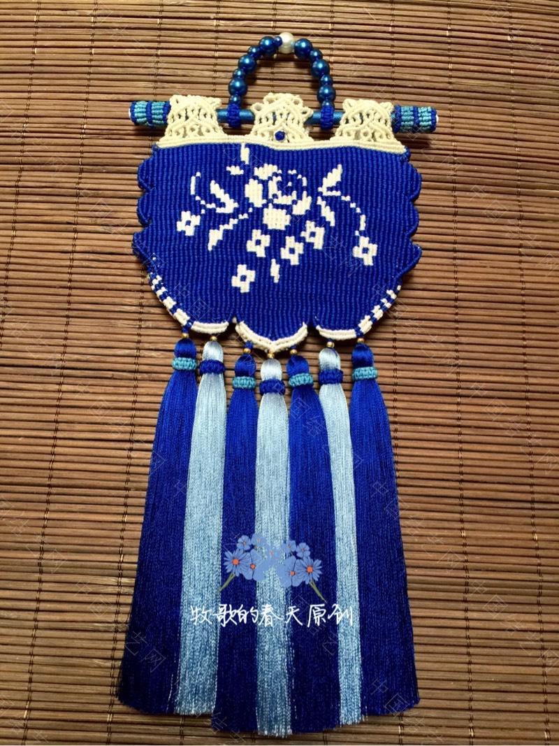 中国结论坛 原创双面荷包挂饰 幽蓝识香  作品展示 120635ehhxklduupudhpzz