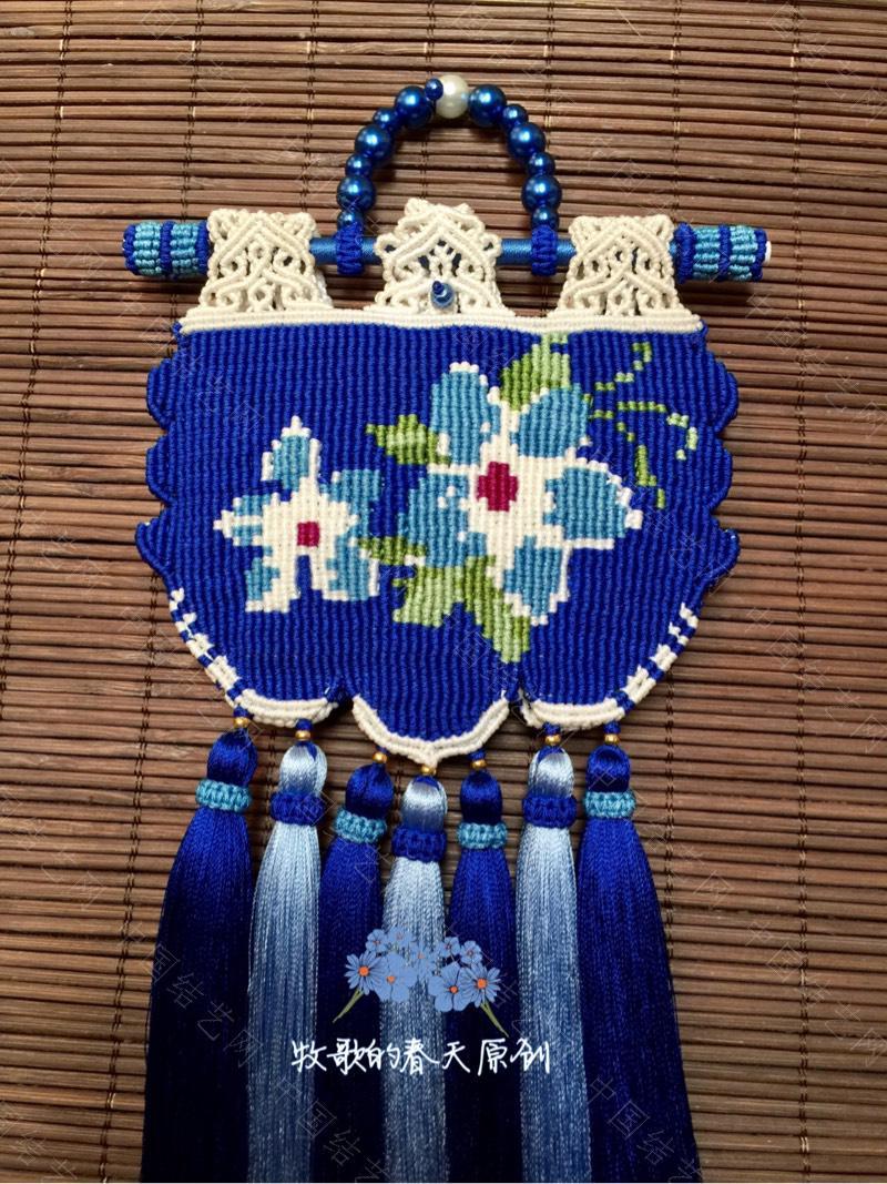 中国结论坛 原创双面荷包挂饰 幽蓝识香  作品展示 120636gkkekpb59cpl5kdz