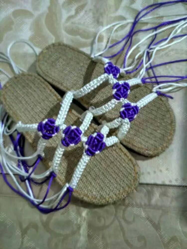 来一双手工编织凉鞋,美丽一夏图片