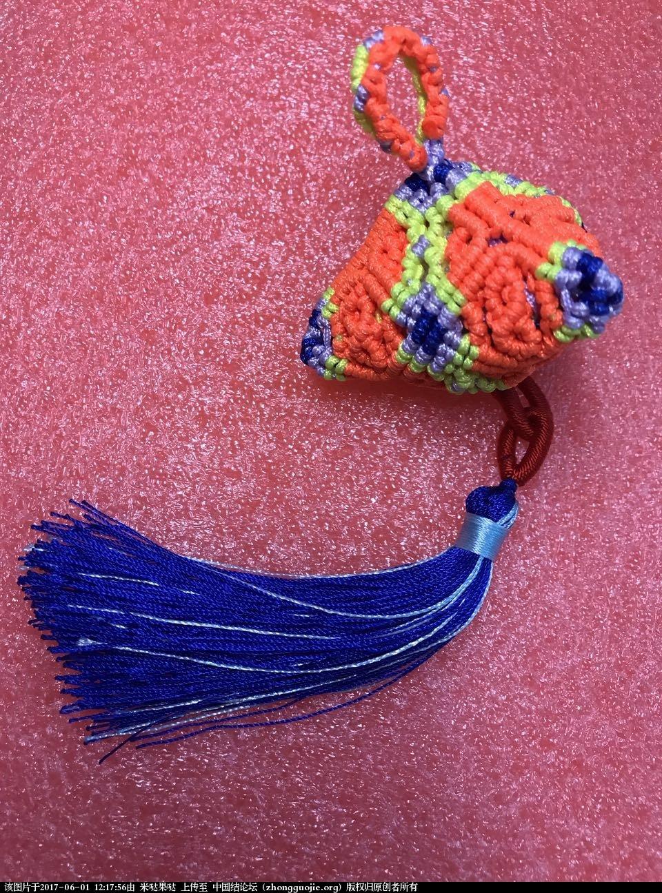 中国结论坛 不同的花粽子简单教程  立体绳结教程与交流区 114604qgp7y96rgpkwpp7u